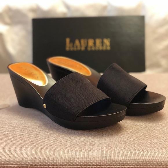 5a32bad499e7 NEW Ralph Lauren Platform Shoes
